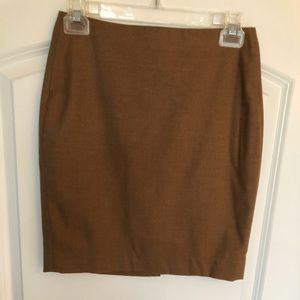 Banana Republic Camel mini skirt